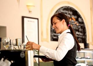 Dienstkleidung Kellnerin